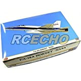 RCECHO® Hasegawa Aircraft Model 1/48 Airplane F/A-18A Hornet NASA Hobby 07384 H7384 with RCECHO® Full Version Apps Edition