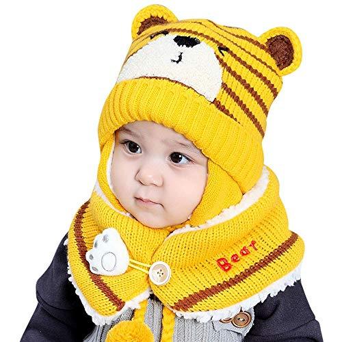 Mbby Cappello Sciarpa A Set Neonato Inverno 6 24 Mesi Berretto A