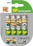 GP Batteries Alkaline Batterien Akku AA 2000mAh Minions Edition 1x 4Stück