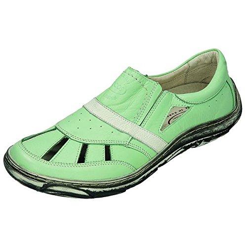 Sportif 200628 miccos shoes chaussures pour femme Vert - mint/weiss