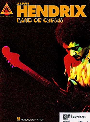 Jimi Hendrix: Band of Gypsys (Guitar Recorded Versions)