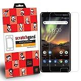 #7: Nokia 6.1 Scratchgard Original Anti- Matte Anti-Glare/Anti-Fingerprint Film Screen Protector with LIMITED LIFETIME WARRANTY