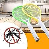 Trada Moskito Swatter, Wiederaufladbare LED Elektrische Fliegen Moskito Swatter Bug Zapper Schläger Insekt Get Rid Nach Hause Elektrische Moskito Swatter Mücke Swatter (Zufällig)