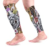 Purebred Dogs Calf Compression Sleeves Shin Splint Beinhülsen Relief Guaranteed