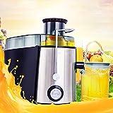 TianranRT Saft Extraktor Obst Gemüse Saft Maschine Weit Mund Zentrifugal Entsafter