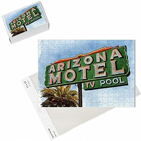 Photo Jigsaw Puzzle of Arizona Motel on 6th Avenue, 2004 (w/c on paper)