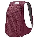 Jack Wolfskin ANCONA Polyamide, Polyester Red Backpack–Backpacks (Polyamide, Polyester, Red, Image, Zipper, 400mm, 240mm)