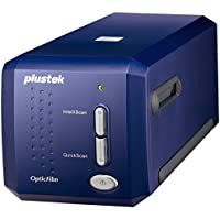 Plustek OF8100 Scanner Professionale per Diapositive, Blu