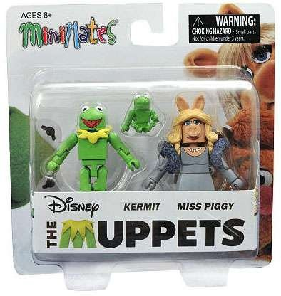 Minimates- The Muppets- Kermit & Miss Piggy