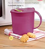 #4: Tupperware Crystal Wave Pitcher 1 Liter
