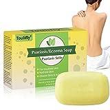 Psoriasis,Psoriasis Seife,Ekzemen Psoriasis-Stab-Seife - Anti-Pilz - All Natural Herbal für klarere Haut und Juckreiz Erleichterung (pack1)