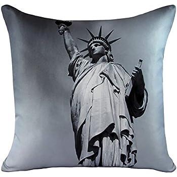 Taie de coussin Imprimé photo de New York Statue de la Liberté
