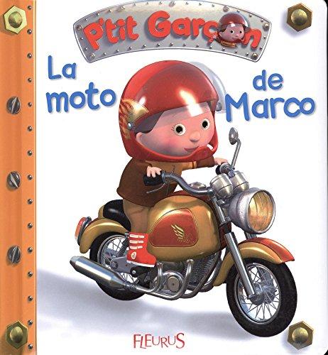 La moto de Marco par Nathalie Bélineau