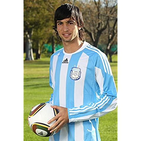 Javier Pastore (24x36 inch, 60x90 cm) Silk