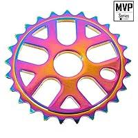 KHE MVP BMX aluminio Cadena Hojas 25dientes Oil Slick Jet de Fuel–V85