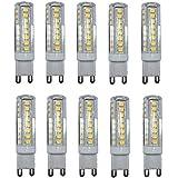 10W G9 Luces LED de Doble Pin T 51 SMD 2835 800-900 lm Blanco Cálido / Blanco Fresco Decorativa / Impermeable AC 100-240 V 10 piezas , warm white