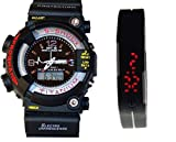 GIVME S-Shock Analog-Digital & Rubber LE...