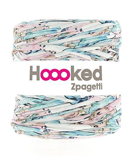 Hoooked Zpagetti Textilgarn 120 m Rolle gemustert - Farben zur Wahl (04 Frozen Girl) (04-garn)