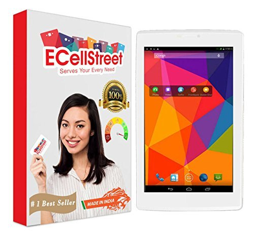 ECS Pack of 3 Tempered Glass Screenguard for XOLO Play Tab 7 Tablet Screen Guard Scratch Protector  available at amazon for Rs.449