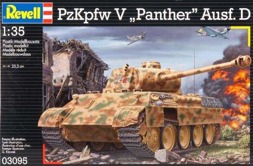 "Revell Modellbausatz 03095 - PzKpfw. V ""Panther"" Ausf. D im Maßstab 1:35"