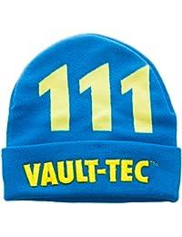 Beanie Cap - Fallout - Vault-Tec Cuff New Licensed kc3qfhfot