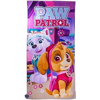 pink PawPatrol Kinder Handtuch//Gesichtstuch 30x50cm 100/% Baumwolle tolles Geschenk Paw Patrol