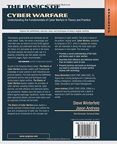 The Basics of Cyber Warfare: Understanding the Fundamentals of Cyber Warfare in Theory and Practice