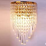 XIAOJIA Moderne kreative K9 Hotels in Crystal Wand Lampe Schlafzimmer Flur Flur Wohnzimmer Studiensaal Beleuchtung , A