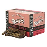 Davies Puffed Jerky Dried Lung Bulk Box 1.5kg