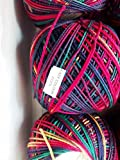 #2: Anchor Mercer Knitting Cotton Multicolour-Multicolour-405801375 - 50 g x 3