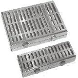 comdent 28–2414–10esterilización Cassette bandeja para 10Instrumentos, 210mm x 140mm x 80mm
