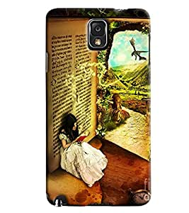 Clarks Printed Designer Back Cover For Samsung Galaxy Note 3