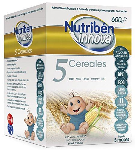 Nutribén Papillas Innova 5 Cereales Desde Los 5 Meses