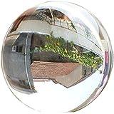 ecyc transparente 60mm rara natural esfera de cristal de cuarzo claro Magic Ball, A01:transparent, talla única
