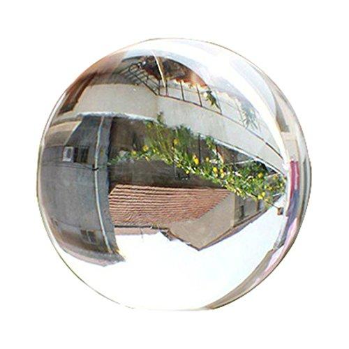 ECYC Transparent 60mm Seltene Natürliche Quarzkugel Kugel Klar Magische Kugel Fotografie Prop, Transparent