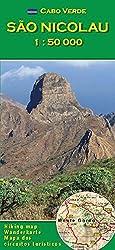 Cabo Verde: São Nicolau 1 : 50000: Wanderkarte