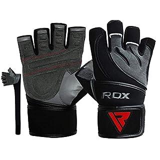 RDX Fitness Handschuhe, Grau, M