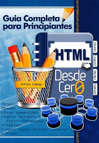 HTML desde cero por Alfredo Limongi