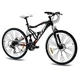 "KCP 26"" Mountainbike Fahrrad Attack 21 Gang Shimano schwarz -"
