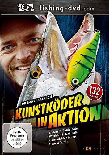Kunstköder in Aktion