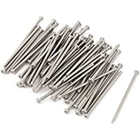 Tornillos Phillips Sourcingmap® de acero inoxidable 304, cabeza redonda, M2 x 40mm, 60 unidades