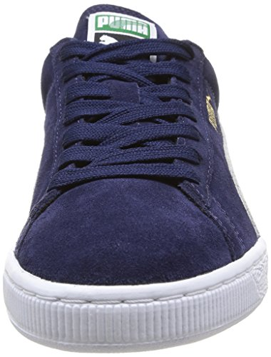 Puma Suede Classic+ , Baskets Mode Mixte Adulte, Rouge Bleu (Peacoat/White 51)