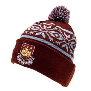 West Ham United F.C. Bonnet de Ski-Produit officiel