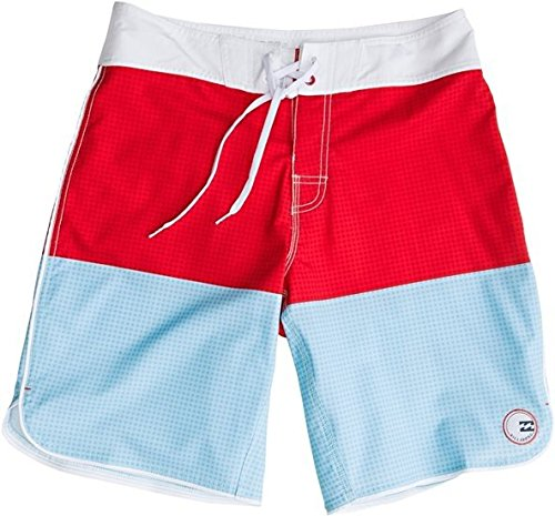 BILLABONG - Bañador, Striker Gingham, Chico, Color: Multi, Talla: 16