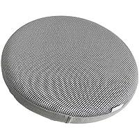 SGerste - Funda para taburete de bar redondo de 30 cm, 33 cm, tela elástica, color beige gris