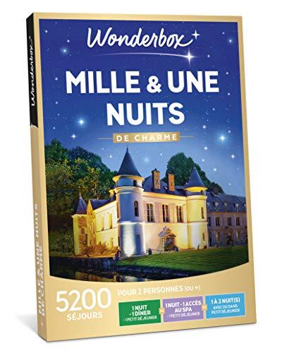 Wonderbox - Coffret cadeau noel - MILLE ET UNE NUITS DE CHARME - séjours romantiques...