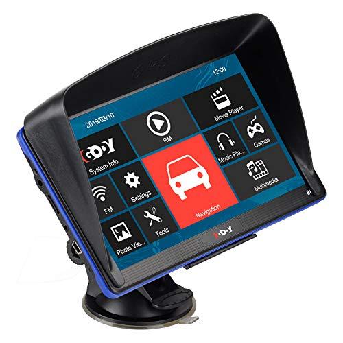 XGODY GPS 886,Navegador para Coche y Camión -Navegación de 7 Pulgadas-Llamadas Manos...