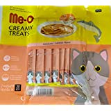 Fins Fur And Feathers Me-O Creamy Treat Salmon Flavor (Pack Of 20 Sticks)