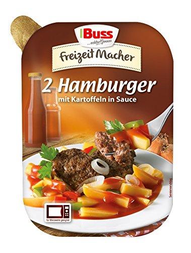 Preisvergleich Produktbild Buss 2 Hamburger mit Kartoffeln in Sauce,  12er Pack (12 x 300 g)