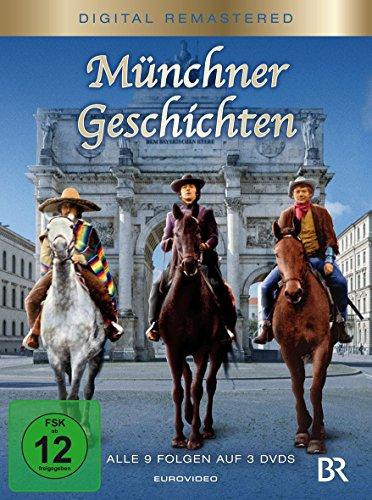 Bild von Münchner Geschichten - Alle 9 Folgen (3 Discs, Digital Remastered)